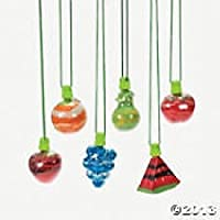 Fruit Salad Sand Art Bottles (set 6)