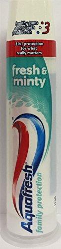 twelve-packs-of-aquafresh-family-protection-pump-toothpaste-fresh-minty-100ml