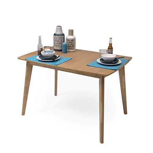 Homely - Mesa Comedor Extensible diseño nórdico