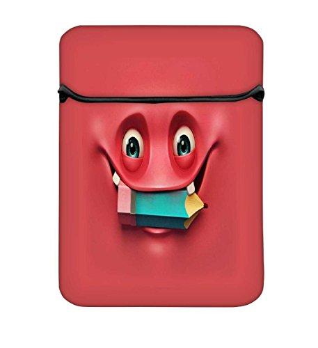 nerdigen Ghost 267017bis 17,6schützende Neopren mit Tragetasche aus Tasche für MacBook Acer Dell HP Lenovo Chromebook