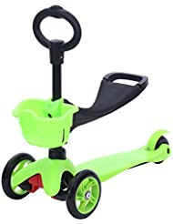 3 en 1 NEUF Push Ride Scooter pour Early Stage de l'assise réglable Kid enfant