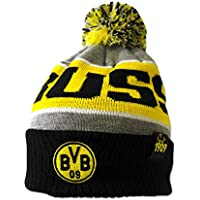 Borussia Dortmund BVB 09 BVB-Bommelmütze (grau)