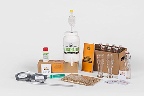 Bier Kwik Microbrauset WEIZEN - Bier selber brauen in der All-in-one-Küchenmaschine