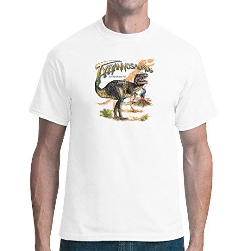 Fun unisex T-Shirt - Urzeit: Tyrannosaurus Rex by Im-Shirt Weiß