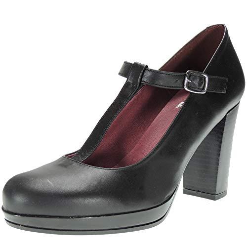 Abril S-991 Zapato Plataforma Mujer Hebilla Tacón