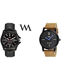 Watch Me Gift Combo Set For Him/Watches For Men/Watches For Boys (watches 3 Combo/watches 2 Combo) WMC-002-BR-AWC... - B0778M2MQJ