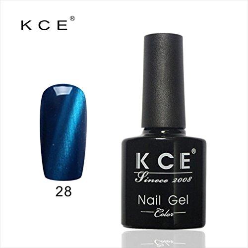 Tefamore Colle UV Vernis à ongles Manucure LED Chats Couleur des yeux couleur foncée 12ml