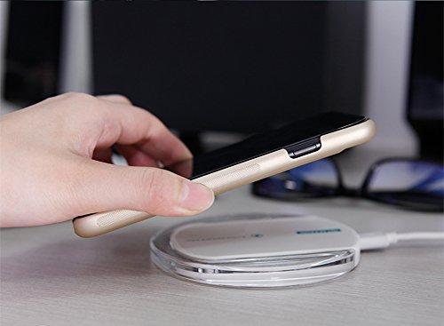 """Coque iPhone 7 Plus, Nillkin [Magic Case Series] QI Coque arrière pour le récepteur de recharge sans fil [Compatible avec le chargeur de voiture sans fil Nillkin Magnetic] pour iPhone 7 Plus 5.5 """"- No OR"""