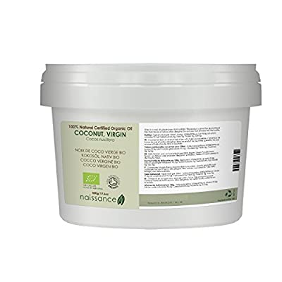 Naissance Virgin Coconut Oil 500g Certified Organic 100% Pure - Read Reviews