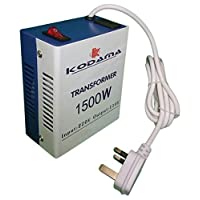 KODAMA Transformer 220V to 110V Power Converter 1500 Watt KOT1500W