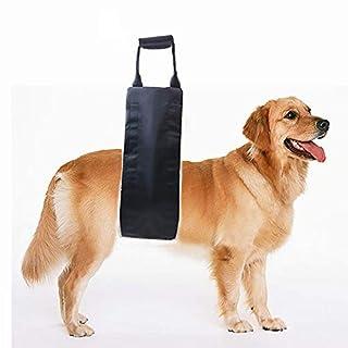 PICK FOR LIFE Hantelgeschirr, Unterstützung und Reha-Geschirr für schwache Hinterbeine, weiche Schlinge für den Hund, der Senior, verletzt, behindert und nach ACL-Operationen Rehabilitation