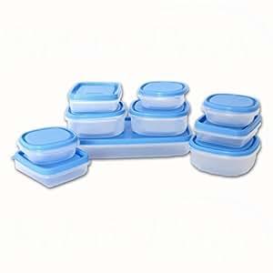 Vorratsbehälter Kunststoff vorratsdosen frischhaltedosen vorratsbehälter vorratsdosen set 20 teilig frischhaltebehälter