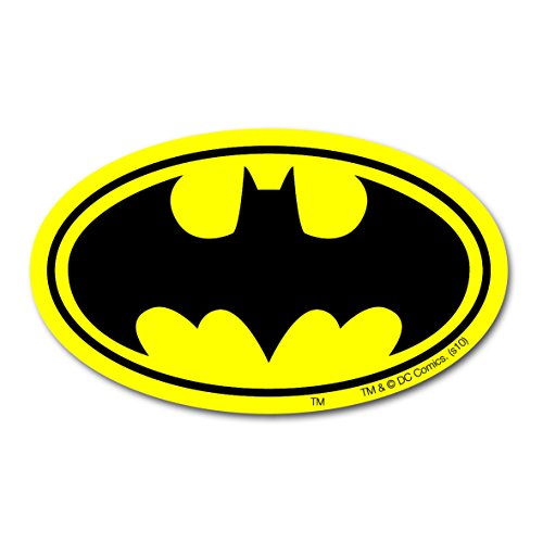 Magnet Batman Logo - DC Comics - Superheld - Kühlschrankmagnet - Lizenziertes Originaldesign - LOGOSHIRT