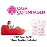 Casa Copenhagen Bella Export Quality 2 Kg Bean Bag Refill/Filler