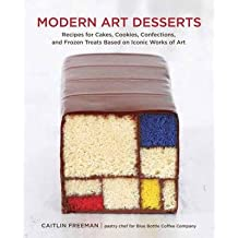 Modern Art Desserts: Recipes for Cakes, Cookies, Confections, and Frozen Treats Based on Iconic Works of Art (Hardback) - Common