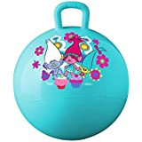 One Pearl Space Hopper Jump N Bounce Retro Ball Handle Ride-on Toy Bouncy For Kids, 65cm (Multicolour)