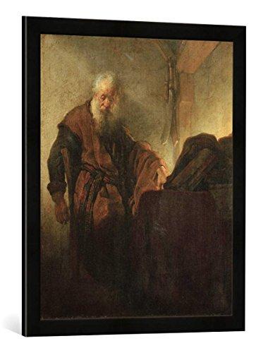Gerahmtes Bild von Harmensz van Rijn Rembrandt