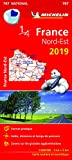 Carte France Nord-Est Michelin 2019...