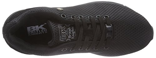 British Knights Jump, Baskets Basses femme Noir - Schwarz (Black-Black 10)