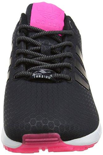 adidas Damen Zx Flux Sneaker Low Hals, Schwarz Schwarz (Core Black/core Black/ftwr White)