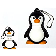 Igloo DI-HP24-4OFS - Memoria USB de 8 GB, diseño pingüino