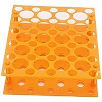 50gut Zentrifuge Tube Rack für 10ml/15ml/LSF15Labor Kunststoff Tube Rack Halter (One Stück)