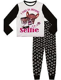 ThePyjamaFactory Girl's Long Pyjamas Awesome Selfie PJ 9 To 16 Years