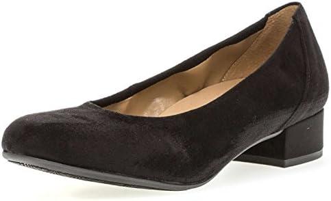 Gabor - Zapatos de Vestir de Cuero para Mujer Negro Negro