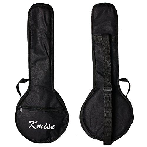 Kmise Banjo-Ukulele mit 4Saiten für Konzerte, 58,4cm, aus Sapeli-Holz MI1704