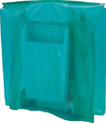 maillesac jp0007Schutzhülle für Gartenliege gefaltet Kunststoff grün transparent 27x 19x...