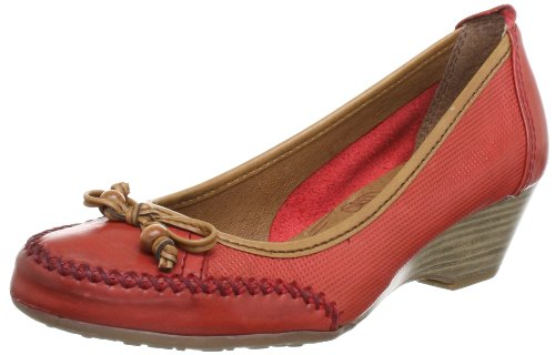 Jana Natural 8-8-22308-20 Damen Pumps Rot (CHILI 533)