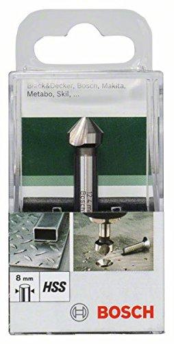 Bosch DIY Kegelsenker HSS (Ø 12,4 mm, 3-Schneiden)