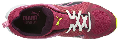 Puma Formlite S Ombre Wn's, Chaussures de fitness femme Rouge (Cerise/Fuchsia/Yellow)
