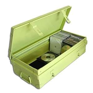 PIERRE HENRY Maxi malle Habitat métal fournie avec tringle-25L