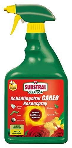 Celaflor Schädlingsfrei Careo Rosenspray, anwendungsfertiges Mittel mit schneller Wirkung gegen Schädlinge an Pflanzen, 750 ml -