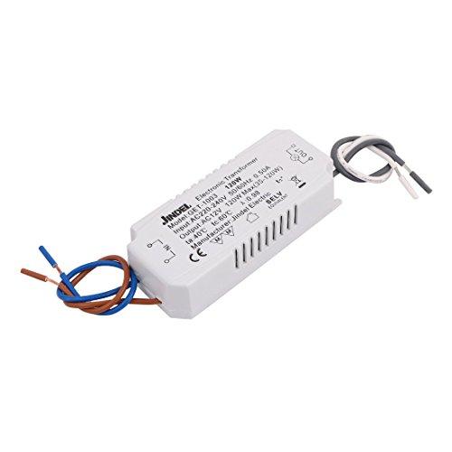 X-Dr AC 220V-240V zu AC 12V 120W Elektronischer Spannungswandler für Kristalllampe (b0c1c0dc27ad610721a6ff8cf24a3794)