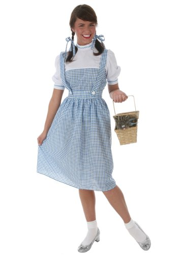 as Girl Fancy dress costume 6X (Dorothy Plus Size Kostüme)