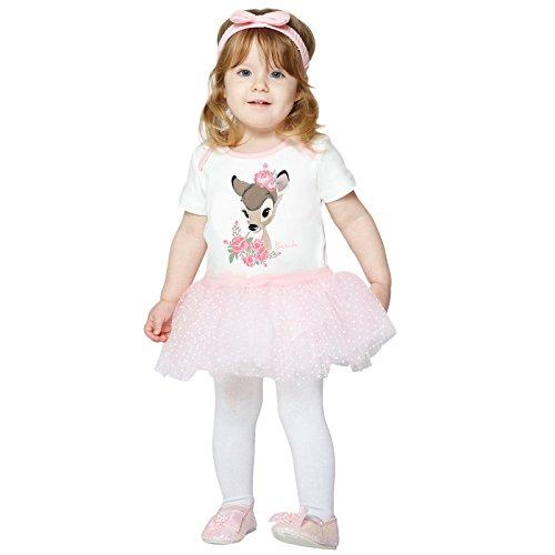 Baby Kostüm Bambi - Amscan Kleid bis dcbam-bys00Kleid bis, Nicht massiv Farbe, 0-3Monate