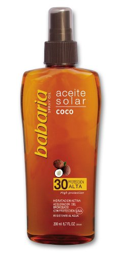 Babaria 1004-29704 Coco Sun Oil Spray SPF30 200 ml