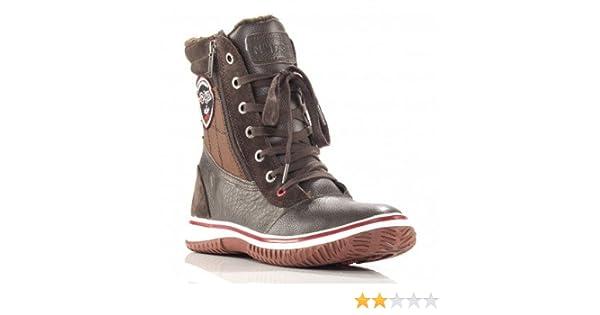 295aaa93097 Pajar, Trooper Chaudes doublées Bottines de Neige pour Hommes - Brun (46):  Amazon.fr: Chaussures et Sacs