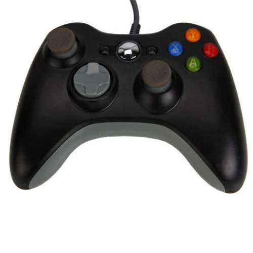 ostent-wired-usb-controller-gamepad-compatible-for-microsoft-xbox-360-console-windows-pc-laptop-comp