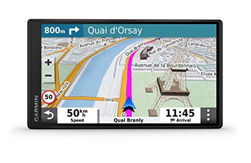 """Garmin DriveSmart 55 EU LMT-S Navigatore Auto con Mappa Europa 3D, Schermo Touch 5.5"""", Vivavoce, Infotraffico e Servizi Live via Smartphone"""