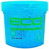 Eco Styler Gel coiffant - Formule sans alcool utilisée par les professionnels - Pour cheveux colorés - Pot bleu...