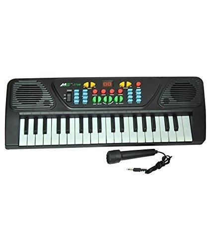 A M ENTERPRISES Melody Piano for kids (Black)