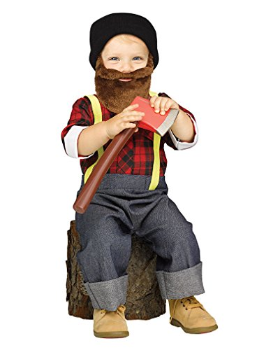Horror-Shop Hipster Lumberjack Toddler Costume L