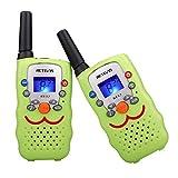 Retevis RT32 Walkie Talkie für Kinder 8 Kanäle 0,5W PMR446 Funkgerät VOX Scan