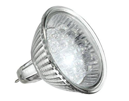 12V G5.3 Niedervolt DIP LED Leuchtmittel 1W Warmweiß MR16 Ø 50mm Einzeln - 5er Pack - 10er Pack