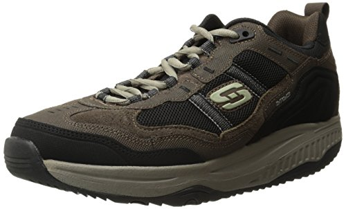 zapatillas-skechers-shape-ups-premium-confort-marron-negro-talla-425