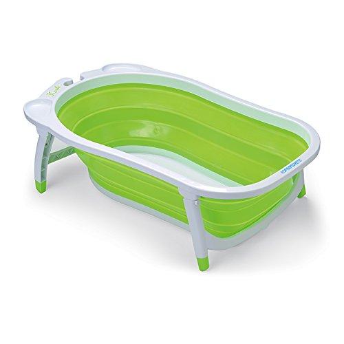 Foppapedretti Soffietto Vaschetta Bagnetto per Bimbo, Utilizzabile dalla Nascita fino a 15 kg, Verde