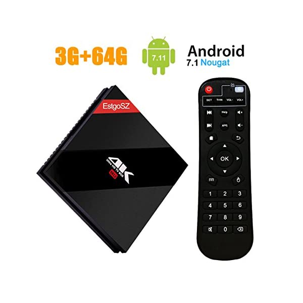 EstgoSZ-Android-71-TV-Box2017-Update-3GB-RAM-64-GB-ROM-Smart-TV-Box4K-Ultra-HD-TV-Box-with-Amlogic-912-Octa-core-CPU-Dual-Band-WiFi-1000M-LAN-H265-Decoding-Support-Remote-Control